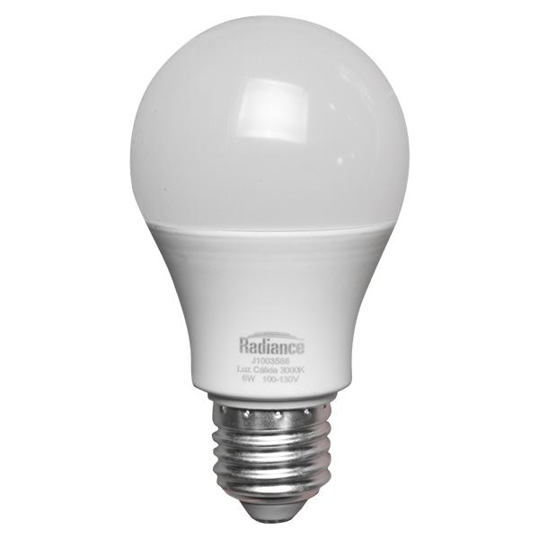 Bombillo LED de 6W y luz cálida RADIANCE