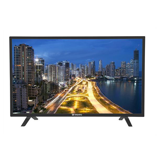 "Televisor Smart HD de 32"" con pantalla plana de color negro NISATO"