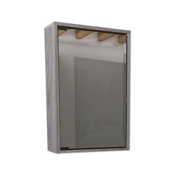 Gabinete superior de 40cm modelo Eco con espejo de color tambo