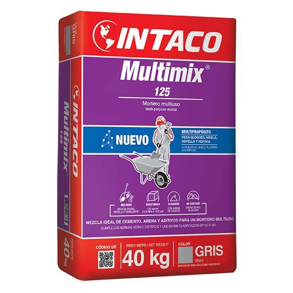 Mortero Multiuso Multimix 125 de 40kg -  INTACO