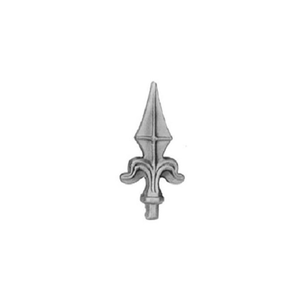 Punta de lanza decorativa de 15mm