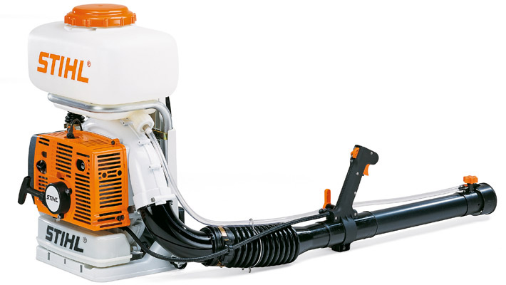 Motofumigadora modelo SR420 motor 56.5cc STIHL TL