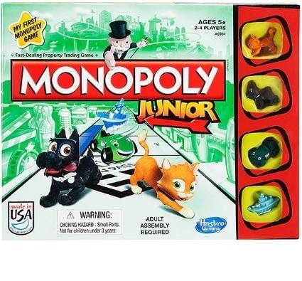 Juego de mesa Monopolio Junior - Hasbro