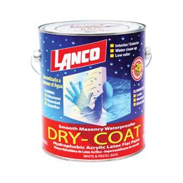 Pintura impermeabilizante Dry Coat de base accent con acabado mate para uso inte