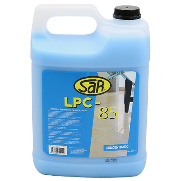 Limpiador concentrado LPC85 de 1gl para cerámica y porcelana SAR