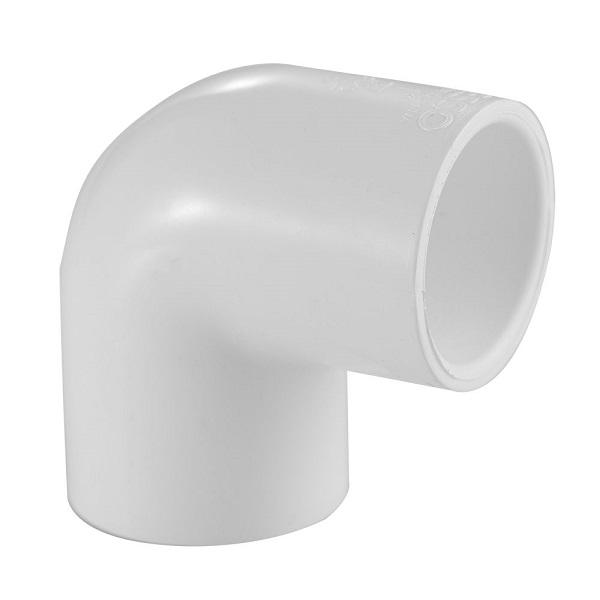 """Codo de PVC de 3/4"""" x 90° para agua"""