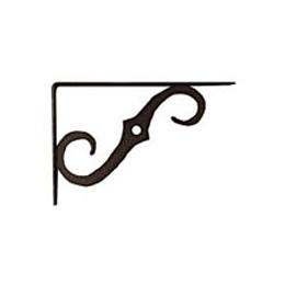 "Brazo decorativo de 5"" x 3-1/2"" para tablilla de color bronce antiguo NATIONAL"