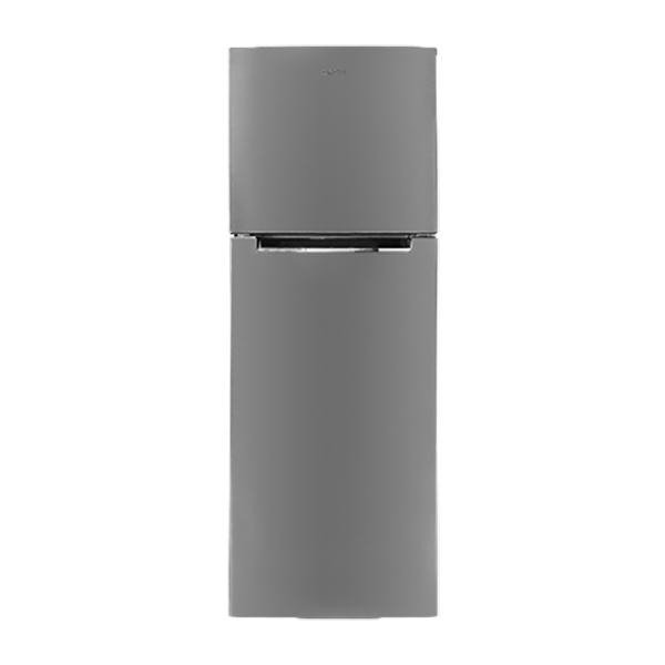 Refrigerador Top Mount de 2 puertas con capacidad de 251L color gris NISATO