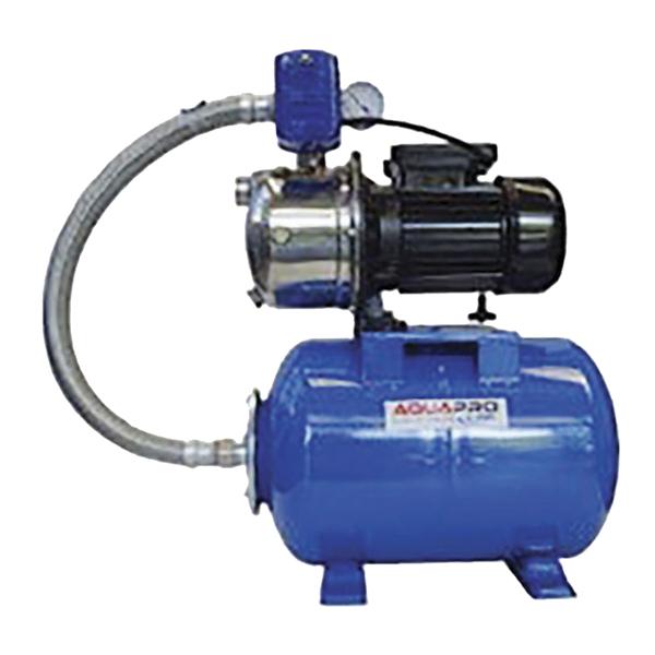 Bomba para agua autocebante de 120V con potencia de 1HP y tanque de presión de 2