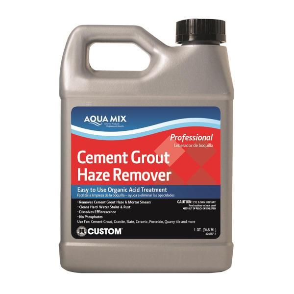Limpiador de ácido fosfórico Cement Grout Haze Remover de 946ml AQUA MIX