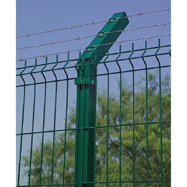 Bayoneta para postes verde