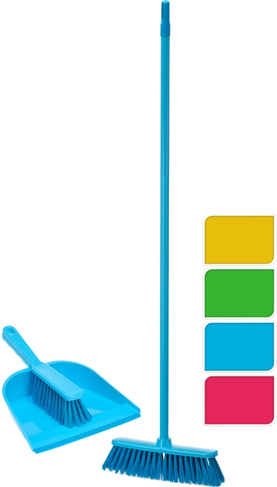 Set de cepillo recogedor y escoba colores surtidos Ultra Clean