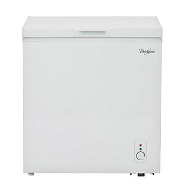 Congelador horizontal de doble acción con capacidad de 141.5L color blanco WHIRL