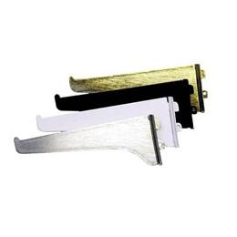 """Brazo de riel de 14"""" de metal decorativo para tablillas de color blanco KNAPE &"""