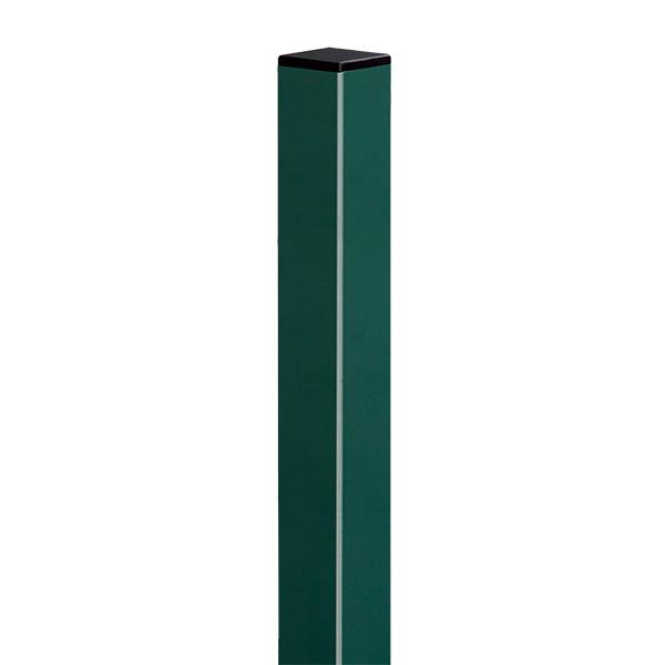 Poste de 2.0 galvanizado de color verde