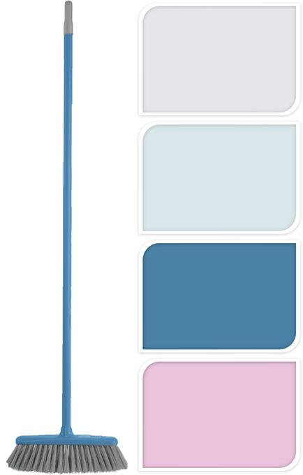 Escoba de colores pastel surtidos ( 4 colores)