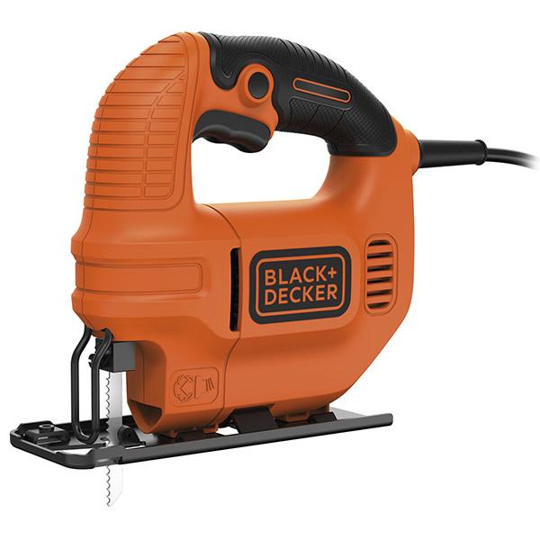 Sierra caladora de 220V y potencia de 420W color naranja/negro BLACK&DECKER