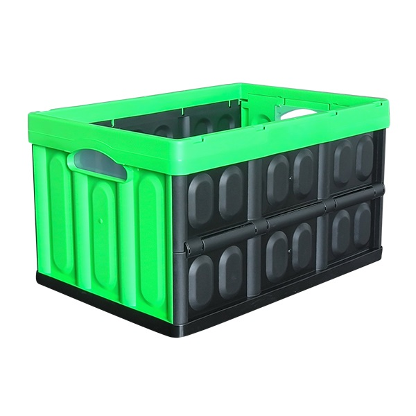Caja plegable multiuso de color verde GEOF