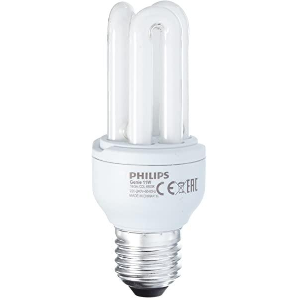 Bombillo fluorescente genie de 11W y 6500k PHILLIPS