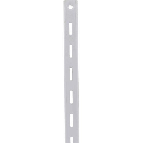 """Riel de 48"""" para tablilla color blanco KNAPE & VOGT"""
