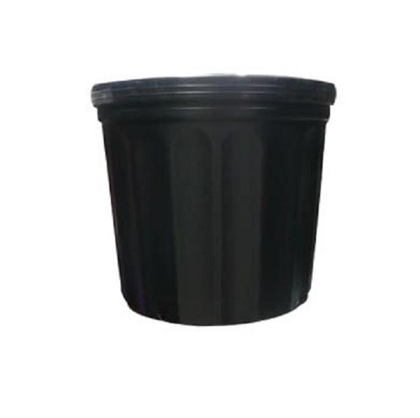 Macetero para vivero #1000 25cm x20cm altura 25cm de color negro
