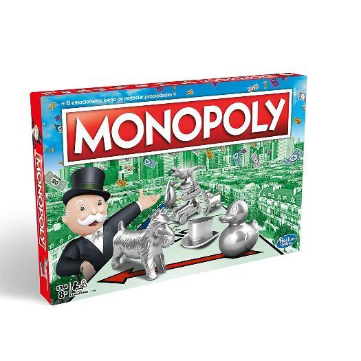 Juego de mesa Monopolio Clasico - Hasbro