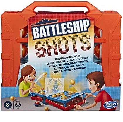 Juego de mesa Battleship Shots - Hasbro