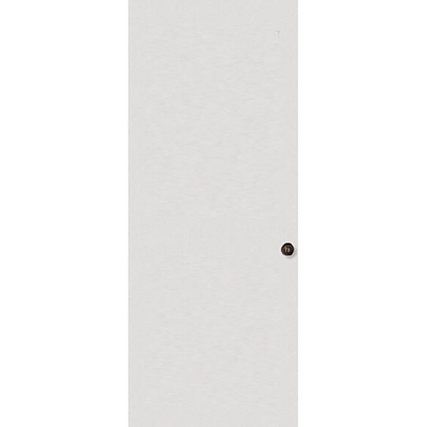 Puerta de metal lisa de 3' x 7' de color blanco VISOR