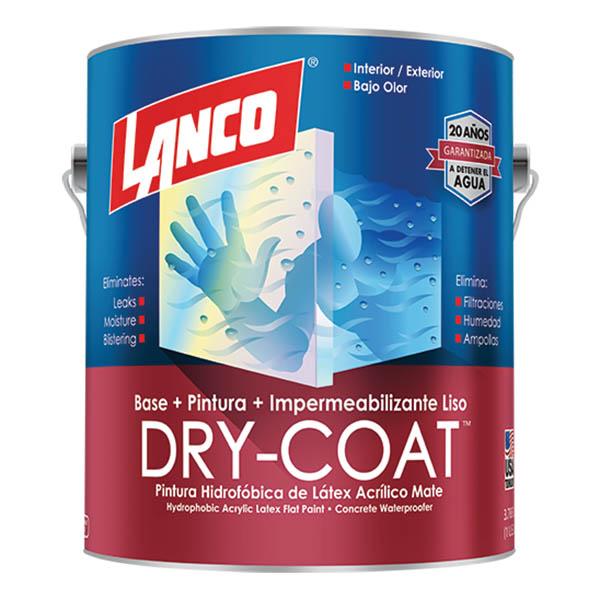 Pintura 3 en 1 Dry Coat Base Deep 1 galon (3.785 litros) LANCO