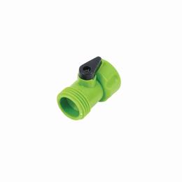 Válvula plástica para manguera de 3/4 pulg.