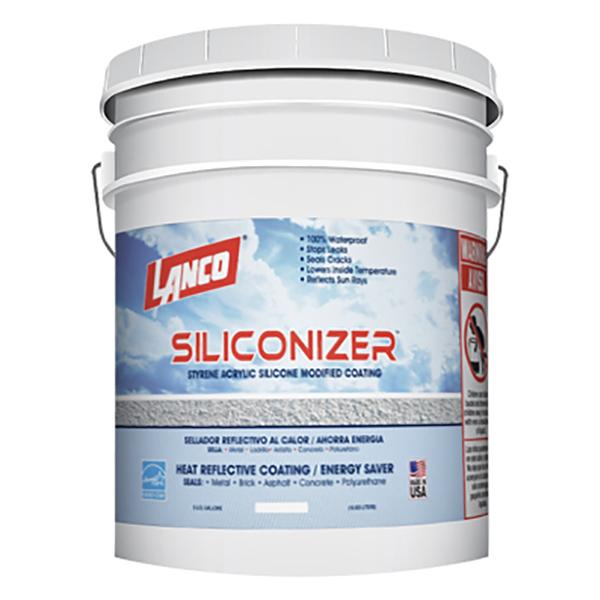 Impermeabilizante de techo Siliconizer gris 5 galones (18.92 Litros) LANCO