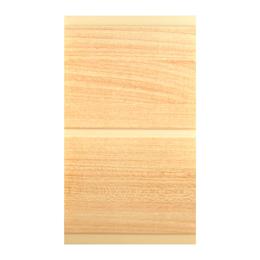 Cielo raso de PVC de 6mm x 20cm x 5.95m modelo Cerezo de acabado liso de color c