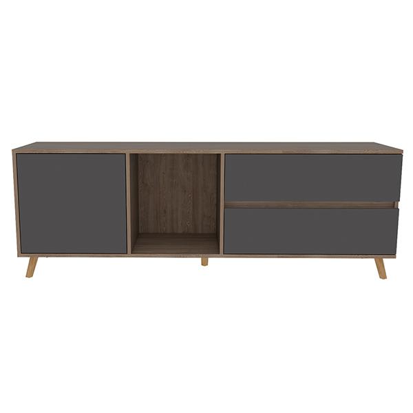 Mueble de entretenimiento de TV de 58.4cm x 158.4cm x 38cm modelo Salem de color