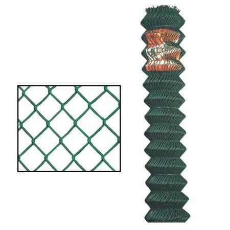 Rollo de alambre de ciclón revestido de 6' x 50' de calibre 11