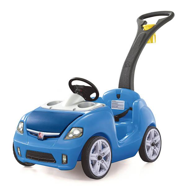 Carrito Whisper Ride II de empujar para niños color azul STEP 2