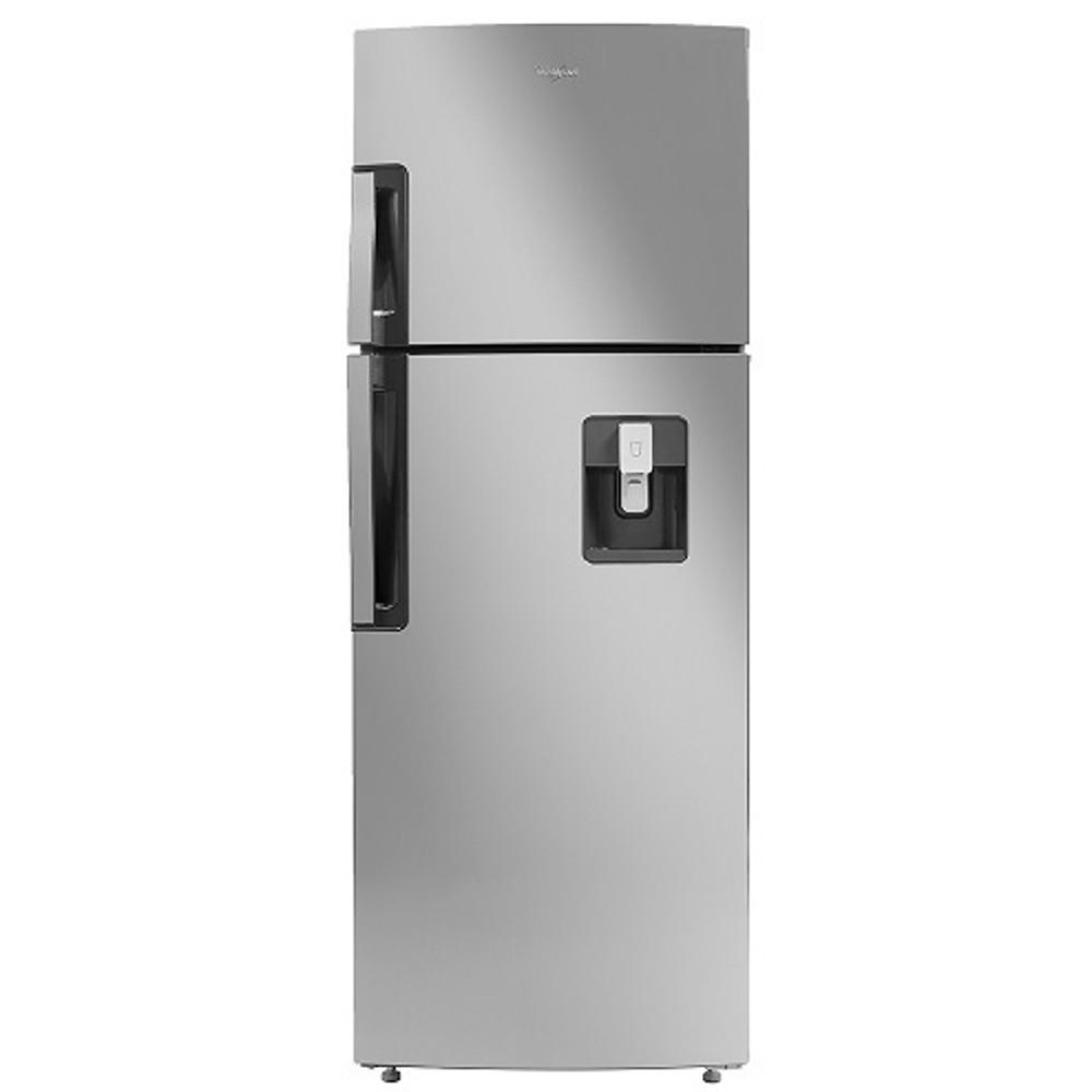 Refrigerador Top Mount de 2 puertas con capacidad de 305L color gris WHIRLPOOL
