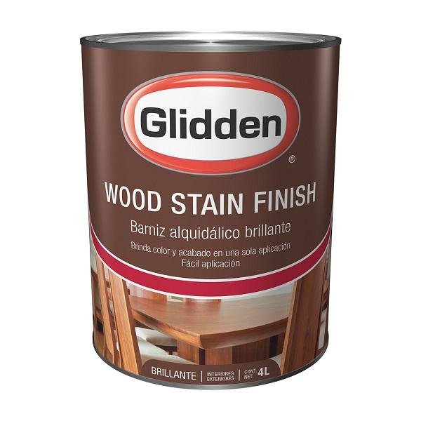 Tinte para madera de color nogal de 1/4gl PINTUCO