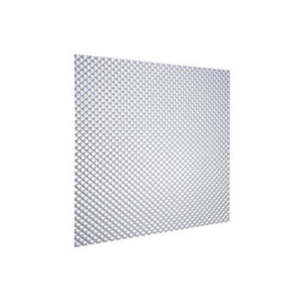 Pantalla acrílica rústica de 2' x 4' transparente ISSA