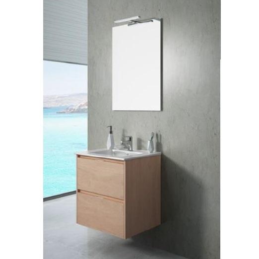 Mueble de baño en kit de 60cm color chocolate TEKA