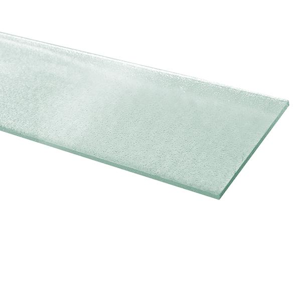 """Paleta de vidrio de 4"""" x 36"""" para ventana acabado corrugado color transparente"""