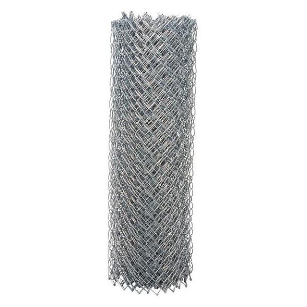 Rollo de alambre de ciclón de 5' x 100' calibre 12.5 galvanizado