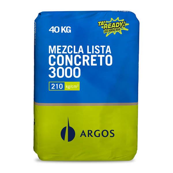 Mezcla lista de concreto 3000 -  40Kg ARGOS