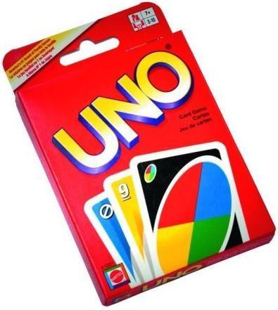 Juego de cartas UNO original - Mattel
