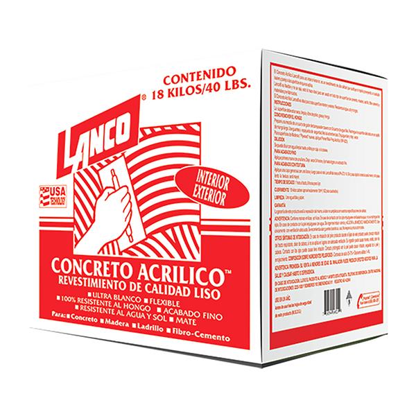 Concreto acrílico de alta calidad pasta de revestimiento para uso en superficies