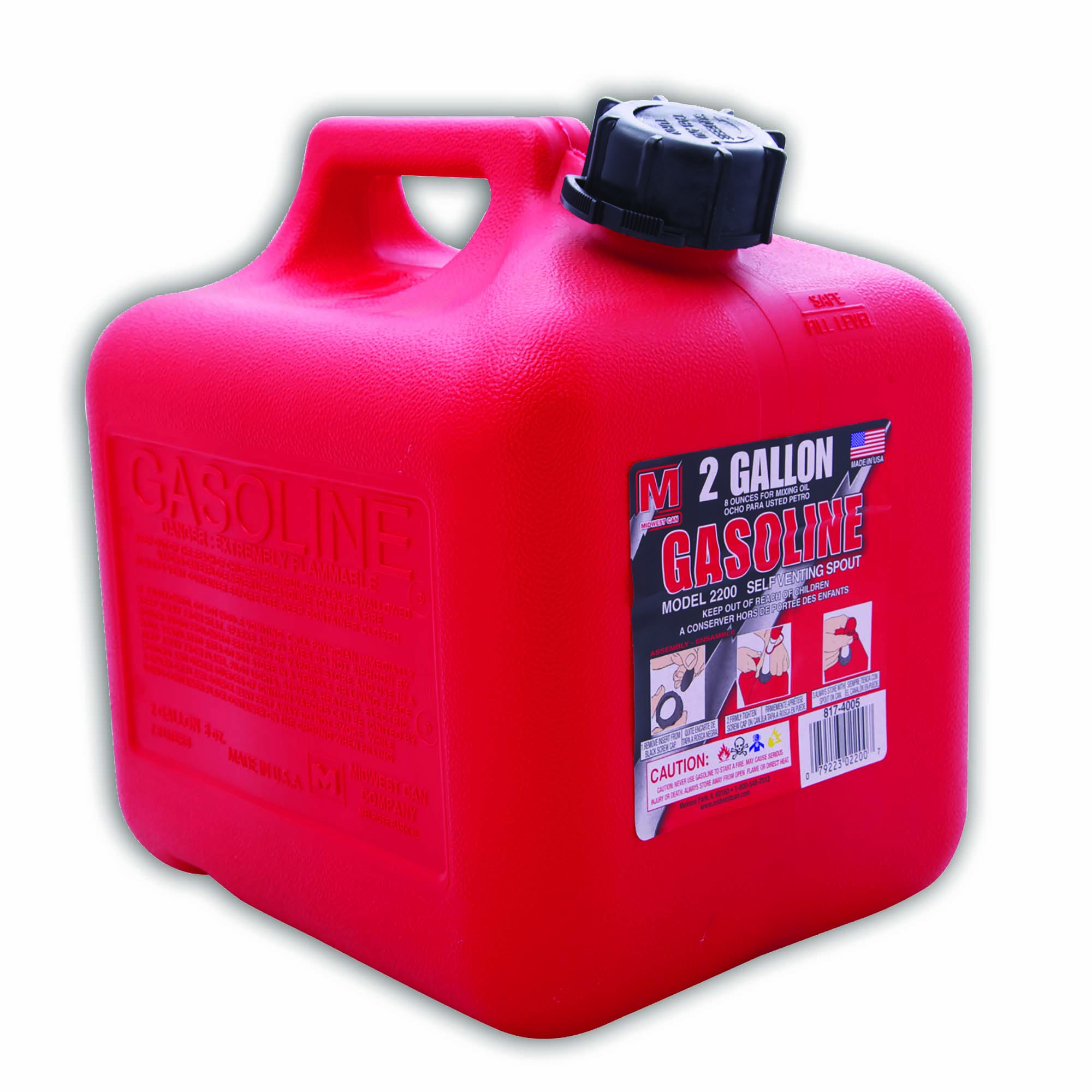 Tanque para gasolina modelo 1100 de 1gl auto ventilante
