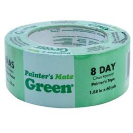 """Cinta adhesiva de 2"""" para pintar color verde"""