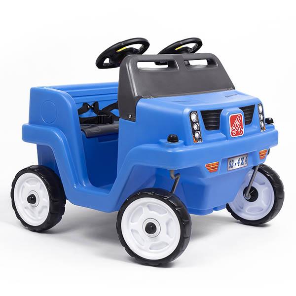 Carrito modelo SUV de empujar Side-by-Side para niños color azul STEP 2