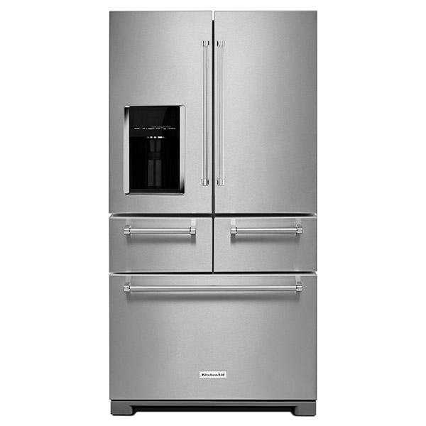 """Refrigeradora Multi-Door de 36"""" con capacidad de 25.8 p3 KITCHENAID"""