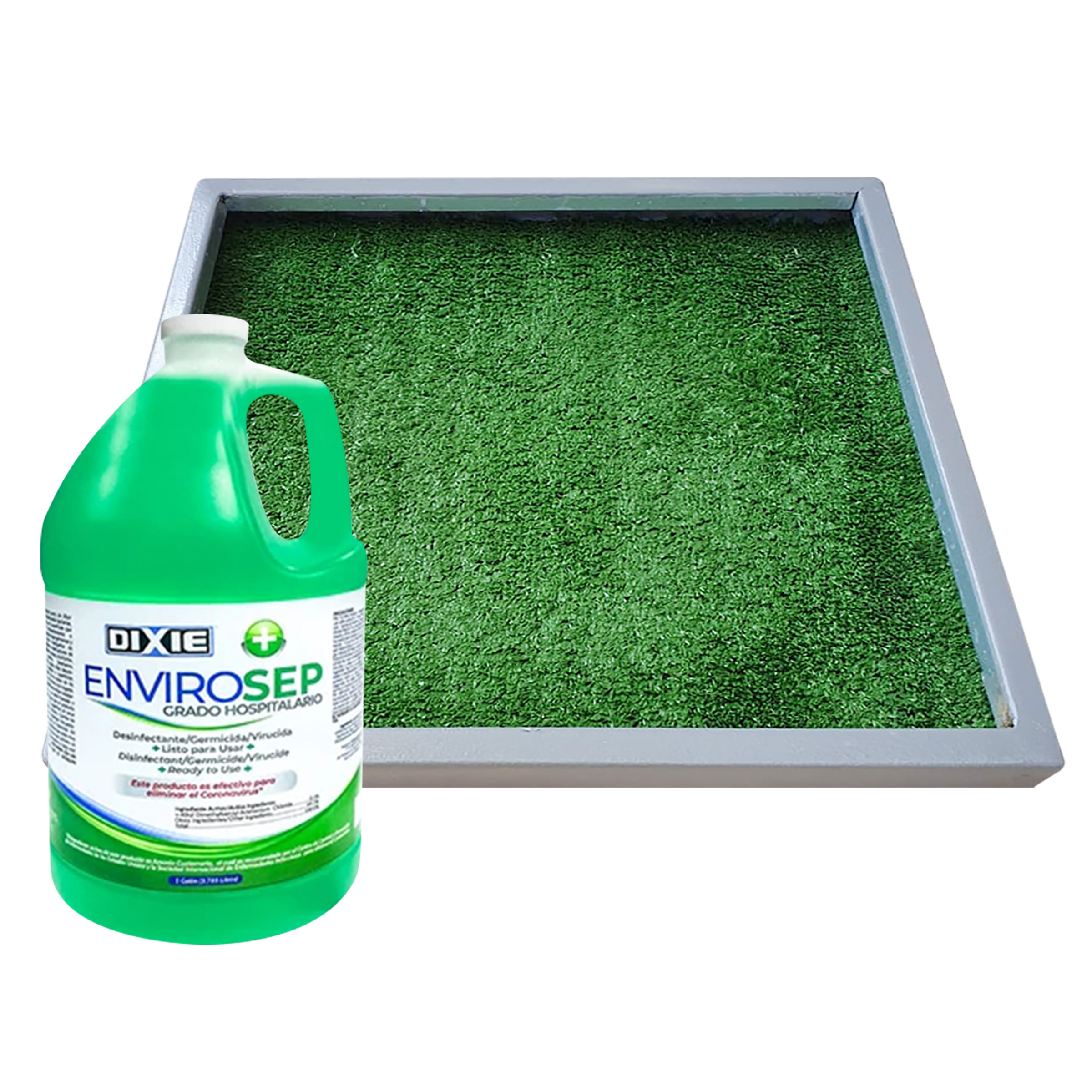 Kit de Bandeja 45x34 cm + 1GL de Desinfectante/Germicida/Virucida Envirosep