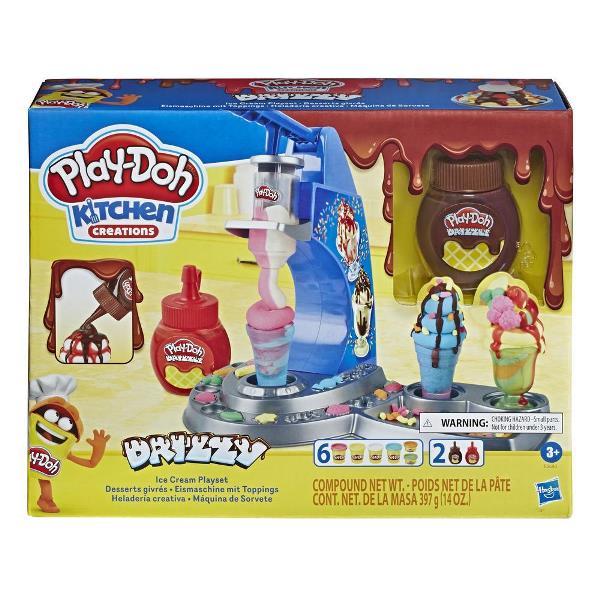 Play-Doh Kitchen Creations set de juego Drizzy Ice Cream